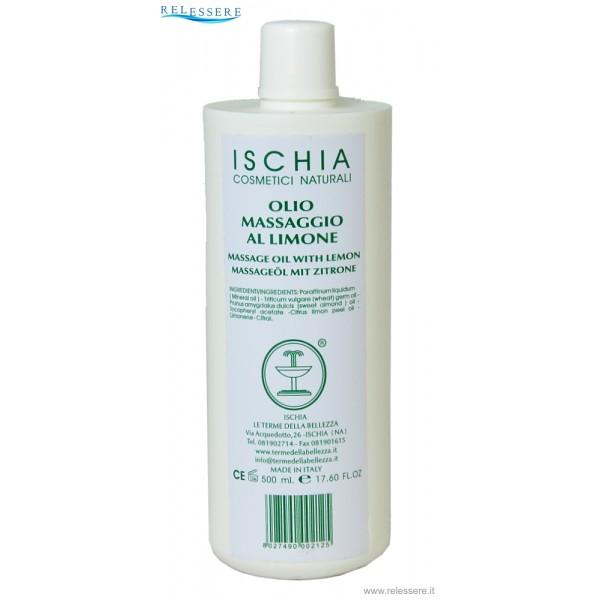 Olio corpo massaggio al limone 500 ml. - Ischia