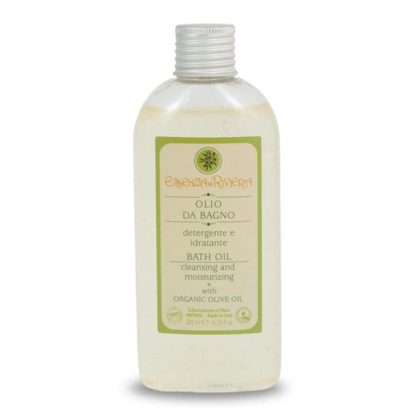 Essenza di Riviera olio da bagno all'olio extravergine di oliva per pelli sensibili e delicate