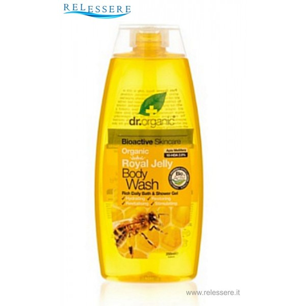 Body Wash with Royal Jelly - Dr. Organic